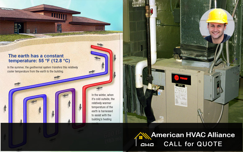 GEOTHERMAL HEATING, Repair and Maintenance Commerce California