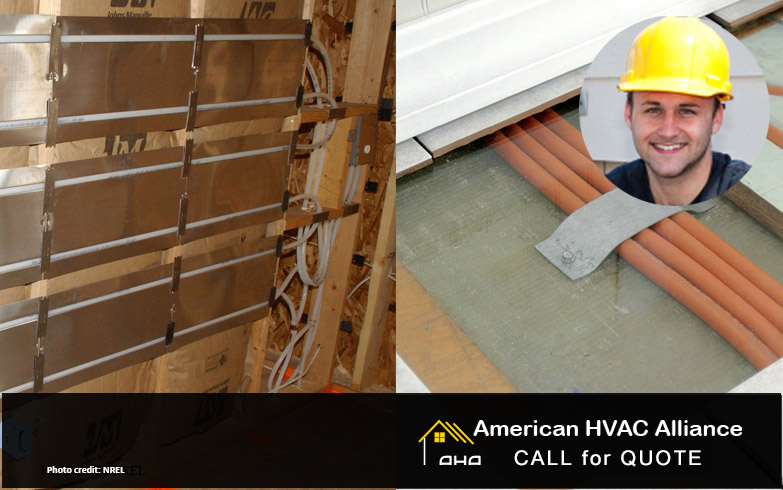 Radiant Floor Panel Heating Underfloor And Wall Panel